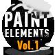 Paint Elements Vol 1 - Splatter - VideoHive Item for Sale