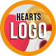Hearts Logo Reveal 1 - VideoHive Item for Sale