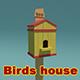 Birds House - 3DOcean Item for Sale