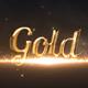 Elegant Gold Ttitles - VideoHive Item for Sale