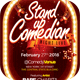Comedian Night Live Flyer Template - GraphicRiver Item for Sale