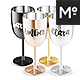 Stainless Wine Glass Tumblers Mock-ups Set - GraphicRiver Item for Sale