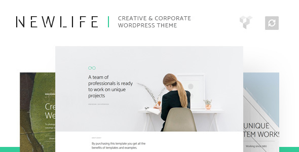 Newlife - Creative & Corporate WordPress Theme