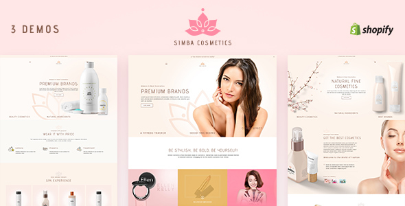Simba Beauty - Shopify Beauty Theme