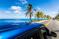 View from above a car in Caribbean San-Andres island. - PhotoDune Item for Sale