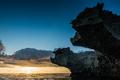 Big volcanic rocks in sunset lights in San-Andres island, Caribb - PhotoDune Item for Sale