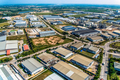 Industrial estate land development aerial view - PhotoDune Item for Sale