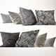 Pillow Collection 02 Fur and Wool - 3DOcean Item for Sale