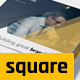 Modern Business Square Brochure - GraphicRiver Item for Sale