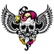 Skull With a Wings - GraphicRiver Item for Sale