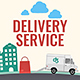 Logistics Company Delivery Promo - VideoHive Item for Sale