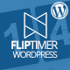 FlipTimer - jQuery Countdown Timer WordPress Plugin - CodeCanyon Item for Sale