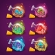 Set of Bottles with Mushrooms - GraphicRiver Item for Sale