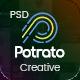 Potrato - Multi-Purpose PSD Template - ThemeForest Item for Sale