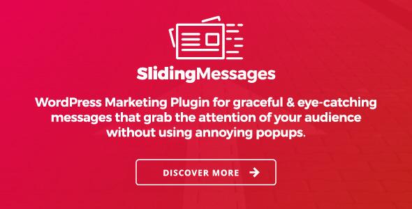 Codecanyon | WordPress Marketing Plugin – Sliding Messages Free Download free download Codecanyon | WordPress Marketing Plugin – Sliding Messages Free Download nulled Codecanyon | WordPress Marketing Plugin – Sliding Messages Free Download