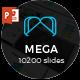 Mega - Multipurpose PowerPoint Template - GraphicRiver Item for Sale