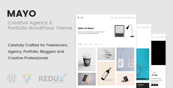 Mayo - Portfolio WordPress Theme for Creative Professionals