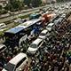 Traffic Jam with Honks