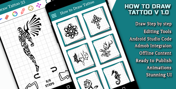 How to draw Tattoo Android Full Application Download