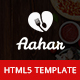 Aahar - Food Delivery Service Bootstrap4 Template - ThemeForest Item for Sale