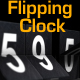 Flipping Clock - 3D counter with split flap / flip digit numbers - VideoHive Item for Sale