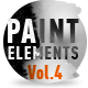 Paint Elements Vol 4 - Expanding Ink Drips - VideoHive Item for Sale