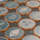 Blockchain Cryptocurrency Loop - VideoHive Item for Sale