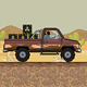 Nuclear Car Asset Tileset Game Kit Runner - GraphicRiver Item for Sale