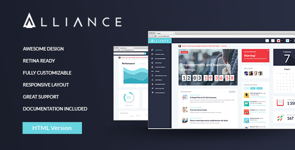 Intranet & Extranet HTML Template