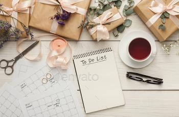 Wedding planner background