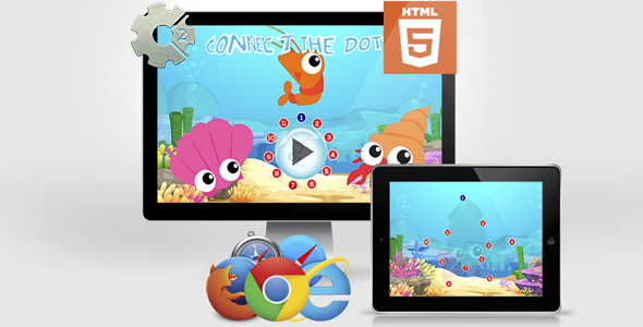 Connect The Dots - Educational HTML5 Game Download