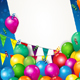 Carnival With Balloons and Ticket - GraphicRiver Item for Sale