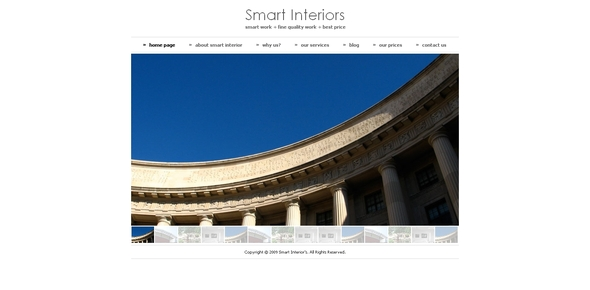 Smart Interiors Drupal 6 Theme