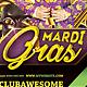Mardi Gras - Flyer - GraphicRiver Item for Sale