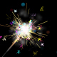 Loop-able Colorful Sparkler Background And Assets - VideoHive Item for Sale
