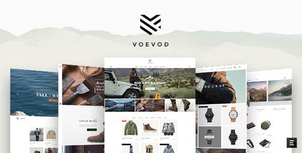 Voevod - WooCommerce Store