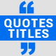 Clean Quotes - VideoHive Item for Sale