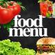 Food Menu 4K - VideoHive Item for Sale