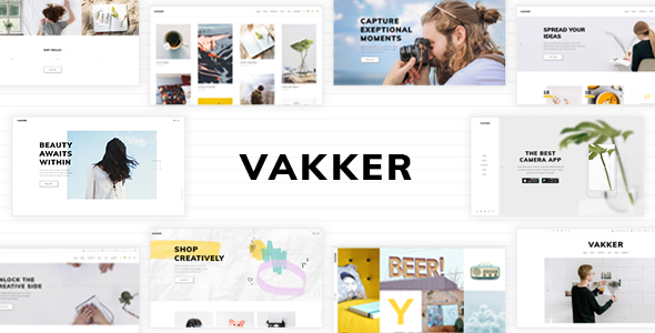 Vakker - Creative Design Agency Theme