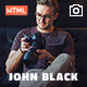 JohnBlack - Photography HTML - ThemeForest Item for Sale