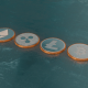 Blockchain Cryptocurrency Coin Symbols - VideoHive Item for Sale