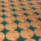 Bitcoin Mining Gold Coins Loop - VideoHive Item for Sale