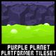 Purple Planet - Platformer Tileset - GraphicRiver Item for Sale