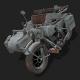 Motorbike Zundapp KS750 - 3DOcean Item for Sale