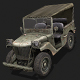 Jeep Willys - 3DOcean Item for Sale