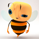 Bee character - 3DOcean Item for Sale
