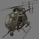 Boeing AH-6 - 3DOcean Item for Sale