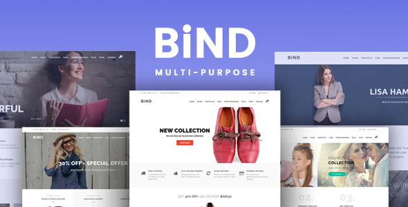 Bind - Effortless Help Desk and Creative Multi-Purpose Theme