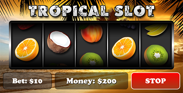 Tropical Slot with AdMob Download