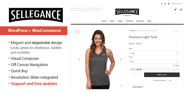 Review: Sellegance - Responsive WooCommerce Theme free download Review: Sellegance - Responsive WooCommerce Theme nulled Review: Sellegance - Responsive WooCommerce Theme